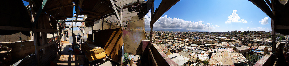 The view, Palestinain refugee camp, Lebanon