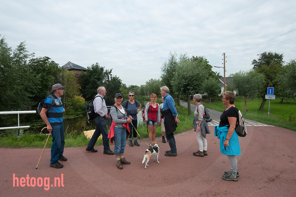 The Netherlands, Nederland 19aug2015 Vlist - Oude Vlisterdijk