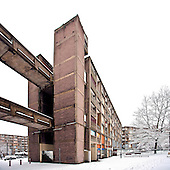 Park Hill in the Snow