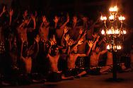 Kecak dance, Bali, Indonesia.