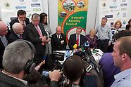 Media Room Enda Kenny at National Ploughing Championships, at Ratheniska, Co. Laois.