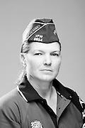 Debbie R. McElhannon<br /> Marine Corps, Army<br /> E-6, O-3<br /> Diesel Mechanic, Financial Management<br /> 1992 - Present<br /> OEF, OIF<br /> <br /> Veterans Portrait Project<br /> St. Louis, MO