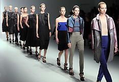 SEP 17 2013 Emilio de la Morena show at London Fashion Week S-S 2014