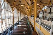 USA, Washington DC. Interior of Terminal B and C at Reagan National Airport.