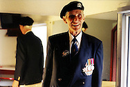 Jim Smith, British D-Day veteran, in Caen in June 2004