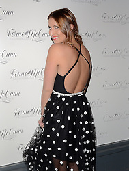 TV personality Ferne McCann launches her blog 'Fashionable Foodie' at Charlie's Deli, High Street, Brentwood, Essex on Thursday 5 February 2015