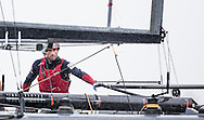 Image licensed to Lloyd Images. Free for editorial use. <br /> Pictures of Official Practice Day 24.07.15 - Land Rover BAR America's Cup Racing Team skipper Sir Ben Ainslie (GBR) <br /> Credit: Lloyd Images
