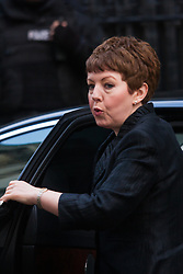 London, March 3rd 2015. Members of the cabinet arrive at 10 Downing Street for their weekly meeting. PICTURED: Baroness Stowell, Leader of the House of Lords
