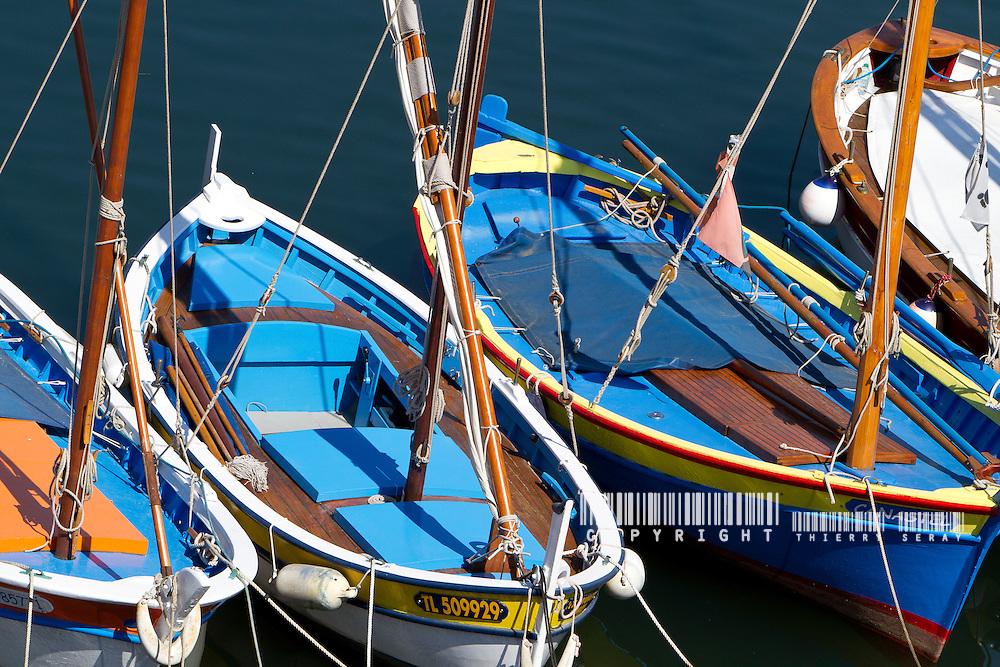Le nom de pointu est d'apparition r&eacute;cente, donn&eacute; dit-on par les &eacute;quipages bretons de la Marine Royale stationn&eacute;s &agrave; Toulon &agrave; ces curieux petits bateaux de p&ecirc;che et de service qui animaient la rade... et qui &eacute;taient pointus &agrave; l'arri&egrave;re comme &agrave; l'avant.<br /> En effet, ces bateaux traditionnels des c&ocirc;tes m&eacute;diterran&eacute;ennes portaient traditionnellement des noms divers selon les lieux&nbsp;; le terme g&eacute;n&eacute;rique utilis&eacute; sur les c&ocirc;tes proven&ccedil;ales &eacute;tait rafiau , petite embarcation &agrave; rames, parfois dot&eacute;e d'un gr&eacute;ement latin.<br /> La forme arri&egrave;re pointue correspond &agrave; la n&eacute;cessit&eacute; d'avoir des bateaux tr&egrave;s marins, se comportant bien face &agrave; une mer form&eacute;e, que cette mer vienne de l'avant (le bateau affrontant la mer de face) ou de l'arri&egrave;re (les vagues rattrapant le bateau par l'arri&egrave;re). Le mistral, vent violent d&eacute;bouchant de la vall&eacute;e du Rh&ocirc;ne, l&egrave;ve rapidement une mer courte et creuse qui met &agrave; rude &eacute;preuve les petites embarcations&nbsp;; la forme arri&egrave;re pointue permet &agrave; ces embarcations de conserver de bonnes qualit&eacute;s marines &agrave; toutes les allures, c'est-&agrave;-dire quel que soit l'angle avec lequel le vent et la mer abordent le bateau. Inversement, sur les mers oc&eacute;anes, la grande longueur d'onde de la houle, m&ecirc;me par vent violent, autorise des formes arri&egrave;res plates, &agrave; tableau, ce qui facilite la construction des coques. Un pointu passe bien dans la mer, en finesse&nbsp;: on dit qu'il ouvre la mer...puis qu'il la referme.