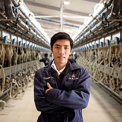 Vietnam | Agriculture | TH milk dairy farm | Nghe An province