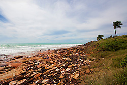 Cable Beach, Broome after storms associated with Tropical Cyclone Carlos passed through.