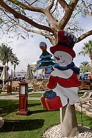 Snømann i Sharm-el-Sheik