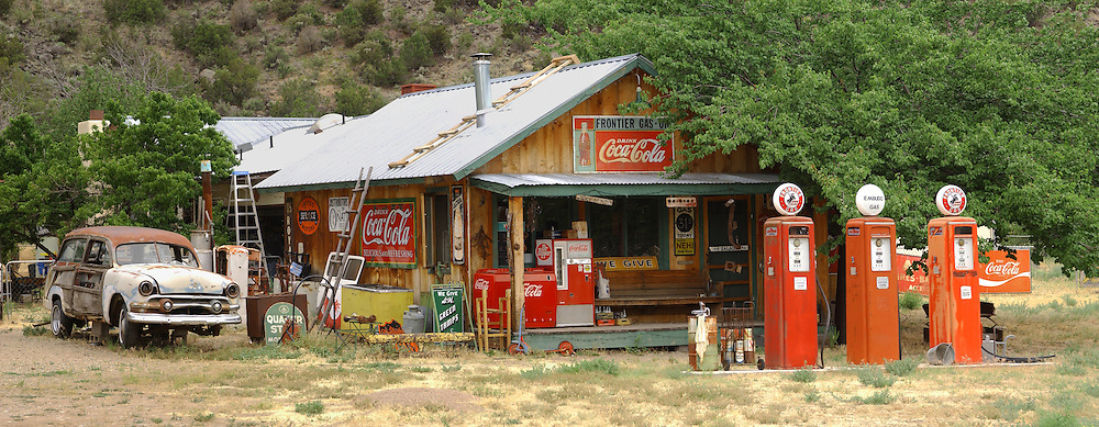 American country gas station