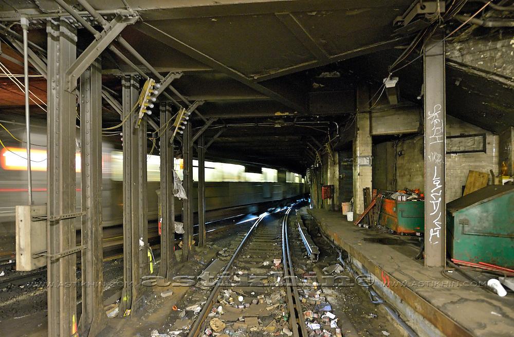 New York City Subway. Train.