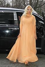 DEC 17 2014 Lady Gaga  in New York City