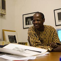 Youssouf Sanogo, director of the CFP / BAMAKO, MALI, JAN 2006 / ANTOINE DOYEN