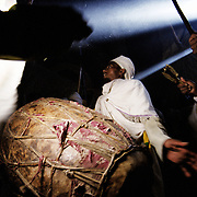 A few days after genet it St. Stefanus day, and a celebration with singing and dancing takes place in the church. Many pilgrims on their way home from Lalibela pass this way.