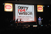 Comedian Eddie Brill performed at The Gerry Red Wilson Found. Comedy Benefit to raise awareness for Spiral Meningitis at the Town Hall in New York City on June 11, 2002 as part of the Toyota Comedy Series.<br /> photo by Jen Lombardo/PictureGroup