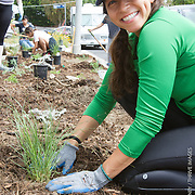 Surfrider OFG Planting Diane Lee Home