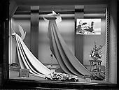 1960 - Switzers Window displays Grafton Street, Dublin