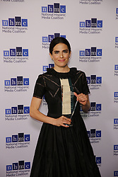 BEVERLY HILLS, CA - FEBRUARY 24: Karla Souza attends The National Hispanic Media Coalition's 20th Annual Impact Awards Gala at the Beverly Wilshire Four Seasons Hotel on February 24, 2017. Byline, credit, TV usage, web usage or linkback must read SILVEXPHOTO.COM. Failure to byline correctly will incur double the agreed fee. Tel: +1 714 504 6870.