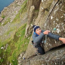 Fairhead Trad Climbing/Highline Meeting..Enjoy, Like, Tag, Post, Repost but above all... Be inspired and go :) Ride the planet!..Location: Ireland, Fairhead..More info @ www.pedropimentel.net.www.pedropimentel.wordpress.com/.www.vimeo.com/pedropimentel..Mandatory Credit: 2012©PedroPimentel.net