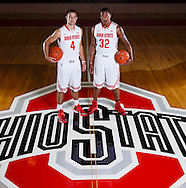 9/26/13 2:28:37 PM -- Columbus, OH, U.S.A  -- Lenzelle Smith jr and Aaron Craft will be on the cover of one of our Sports Weekly season preview regional covers. --   Photo by USA TODAY  Sports Images, Gannett