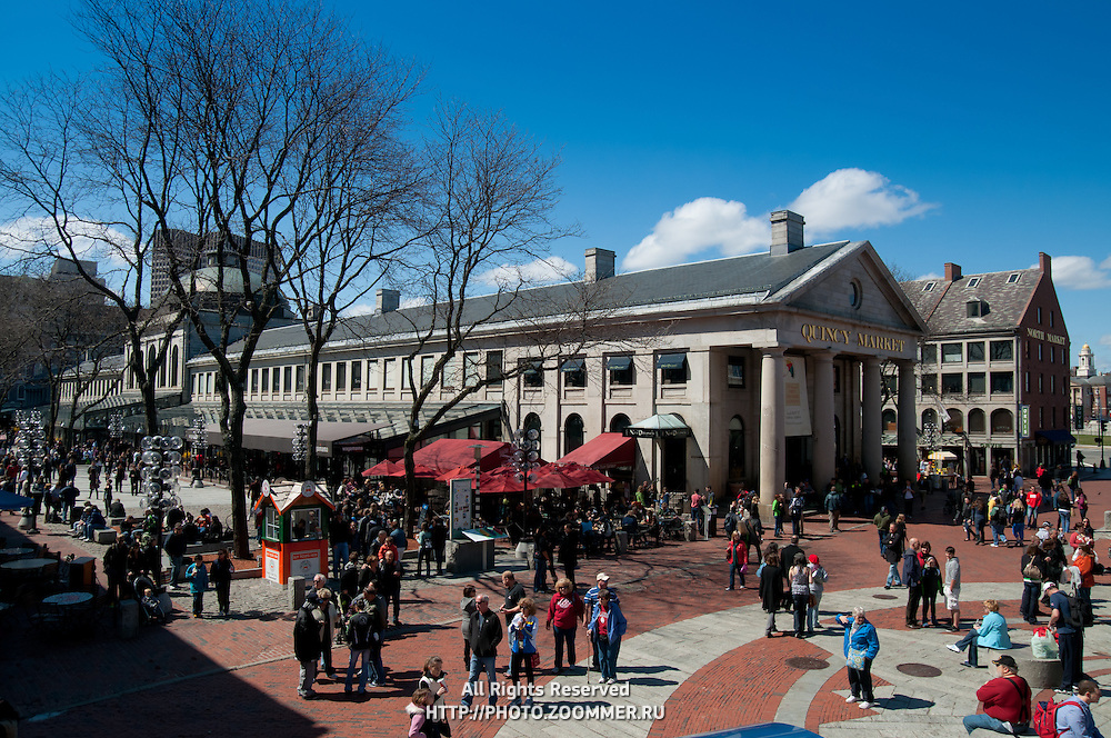 Quincy Market, Boston | Travel Stock Photos