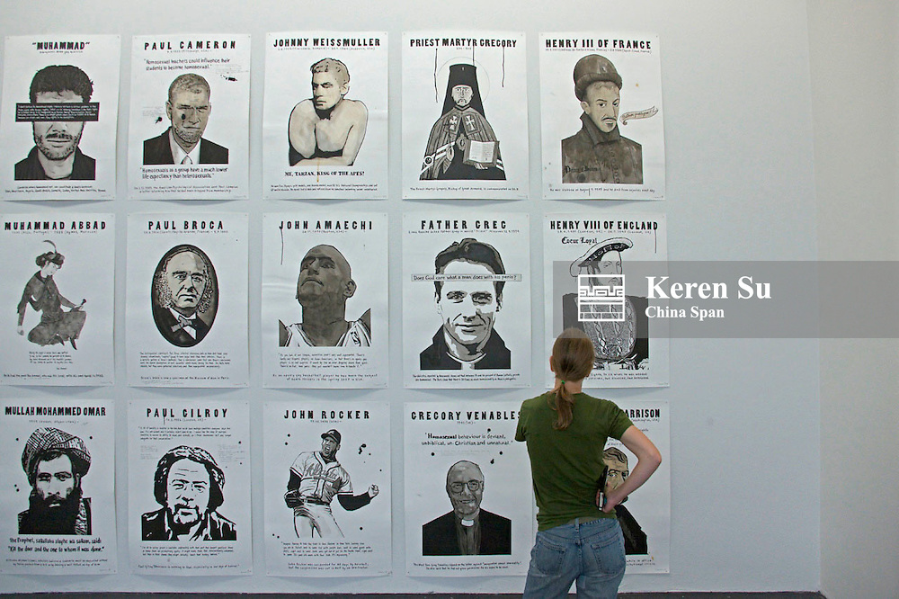 Displays in Modern Art Museum, Helsinki, Finland