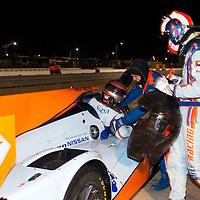 #28 Gulf Racing Middle East Lola B12/60 Coupe Nissan: Fabien Giroix, Maxime Jousse, Jan Charouz