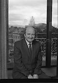 1983 - Portrait of Mr Barry Desmond T.D.-Minister for Health