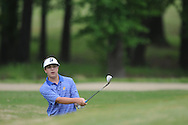 Oxford High's Beau Ryals hits a shot on the 15th hole during the closing round of the MHSAA Class 5A state championship golf tournament at the Ole Miss Golf Course in Oxford, Miss. on Thursday, May 2, 2013. Oxford High won to win the state championship.