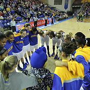 NCAA WOMEN'S BASKETBALL 2013 - JAN 10 - Delaware defeats George Mason 62-27