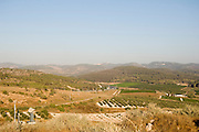 Israel, Ayalon Valley, Latrun, a strategic hilltop overlooking the road to Jerusalem.