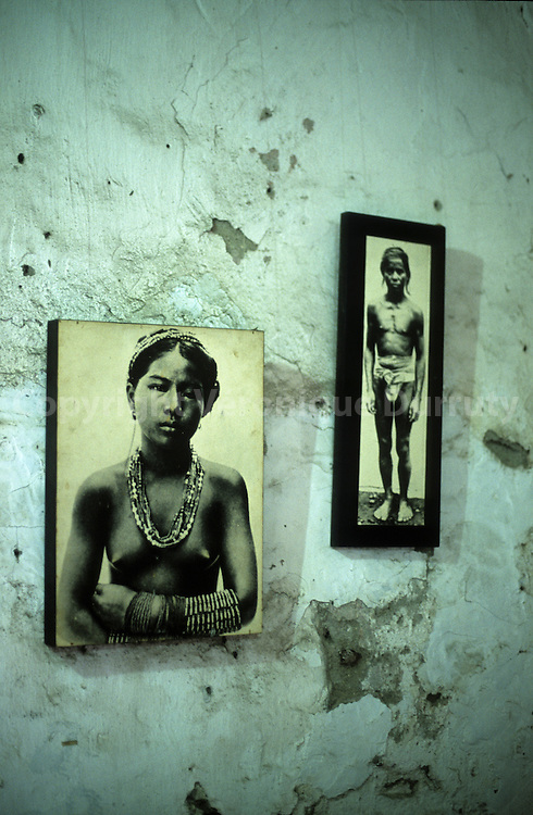 OLD PHOTOGRAPHS OF ETHNIC MINORITIES, BAGUIO MUSEUM, LUZON ISLAND, THE PHILIPPINES