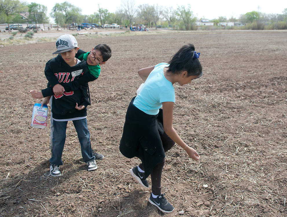 8th annual Dolores Huerta Day of Service and Learning (Marla Brose/Albuquerque Journal)