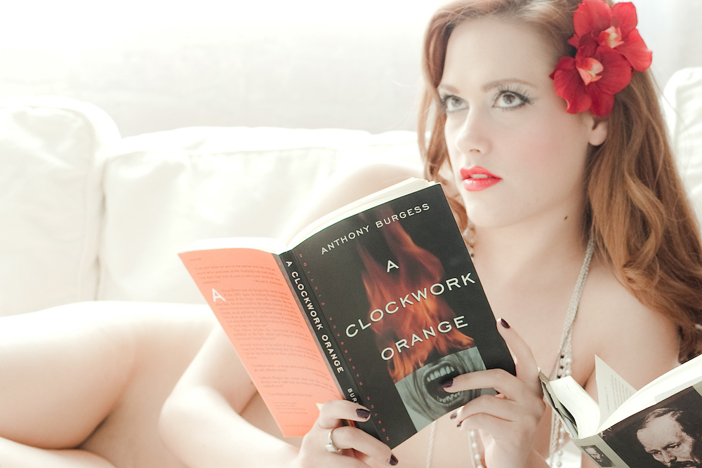 """Naked Girls Reading is """"a group of beautiful ladies who love to read... naked."""""""