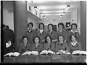 1960 - Aer Lingus Agency Sales Telephone Girls