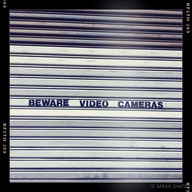 Beware Video Cameras