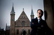 DEN HAAG - portret van minister president nederland mark rutte vvd lijstrekker COPYRIGHT ROBIN UTRECHT