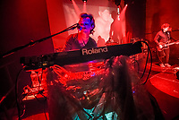 Seaside Caves was among the bands to play at the House of Independents in Asbury Park Tuesday night. Pictured is Matthew Gere on keyboards. / Russ DeSantis | For NJ Advance Media