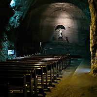 Salt Cathedral. Zipaquira. Colombia.