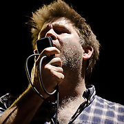 COLUMBIA, MD - SEPTEMBER 25th, 2010:  James Murphy and LCD Sosundsystem bring the 2010 Virgin Mobile FreeFest at Merriweather Post Pavilion to a close. (Photo by Kyle Gustafson/For The Washington Post)