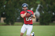 Ole Miss' John Ratliff at football practice in Oxford, Miss. on Saturday, August 3, 2013.