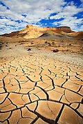 Cracks in dried mud. Grand Staircase-Escalante National Monument, Utah.
