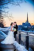 Zara & Tim's winter wonderland wedding