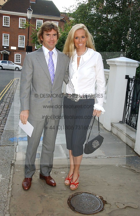 PAUL &amp; VICTORIA STEWART, he is the son of racing driver Jackie Stewart at Sir David &amp; Lady Carina Frost's annual summer party held in Carlyle Square, Chelsea, London on 5th July 2006.<br /><br />NON EXCLUSIVE - WORLD RIGHTS