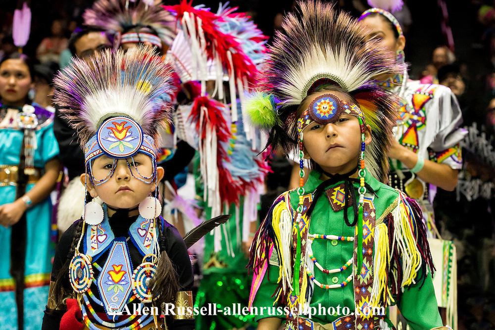 Gathering of nations pow wow navajo boys kids traditional dancer