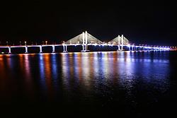 Ponte Construtor João Alves, liga Aracajú à Barra dos Coqueiros..© Tatiana Cardeal