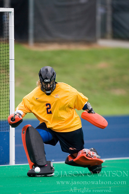 Virginia Cavaliers GK Devon Burnley (2)..The #10 ranked Virginia Cavaliers fell to the #7 ranked Penn State Nittany Lions 3-1 at the University Hall Turf Field in Charlottesville, VA on August 26, 2007.